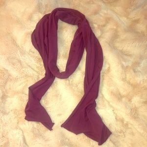 Purple lightweight cotton scarf alternative